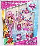 TDL Disney Minnie Mouse Geschenkbox Mädchen 11-teilig - Offiziell Lizensiert - Haarbürste - Haarbänder - Haarklips - Ring - Perlenarmband - Haarklammern - Beauty Set