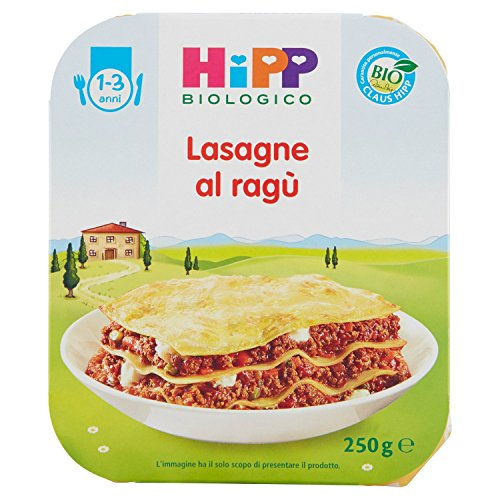 HiPP - Piatto Pronto Bio, Lasagne, 6 Confezioni da 250 g