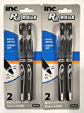 Inc. R-2 Roller Ball Pens (4 Count)