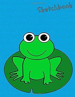 Sketchbook: for frog lovers