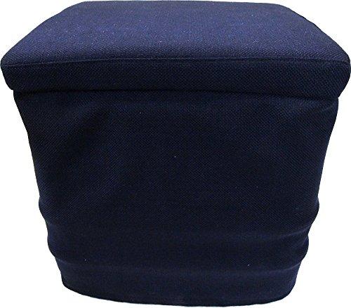 Freizeit Wittke Stoffhocker blau für Thetford Porta Potti 165/365 mit Polster