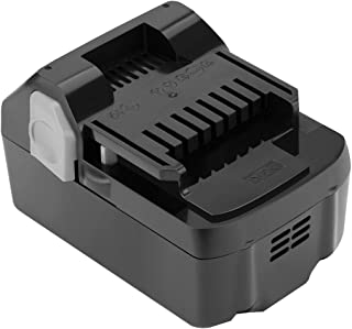 Shentec 18-Volt 4000mAh Battery Compatible with Hitachi 330139 BSL1815X 339782 BSL1830C BSL1815S BSL1830 330557, 18V Li-ion Slide Style Battery