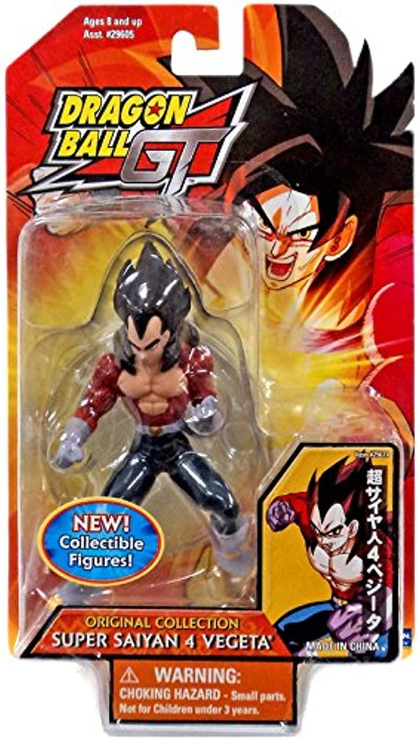 Dragonball Z GT SS 4 VEGETA collectible figure & stand