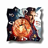 ART TIME PRODUCTION Doctor Strange 11'' Handmade Wall Clock - Get Unique décor for Home or Office – Best Gift Ideas for Kids, Friends, Parents and Your Soul Mates