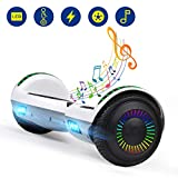 Best Hoverboards - YHR Hoverboards UL2272 Certified with Wireless Bluetooth Speaker Review