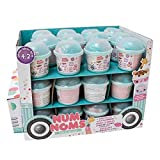 Newest from Num Noms - Series 4.2 Mystery Pack - includes 1 Num and 1 Glitter Lipgloss Nom or 1 Nail Polish Nom - perfect for st