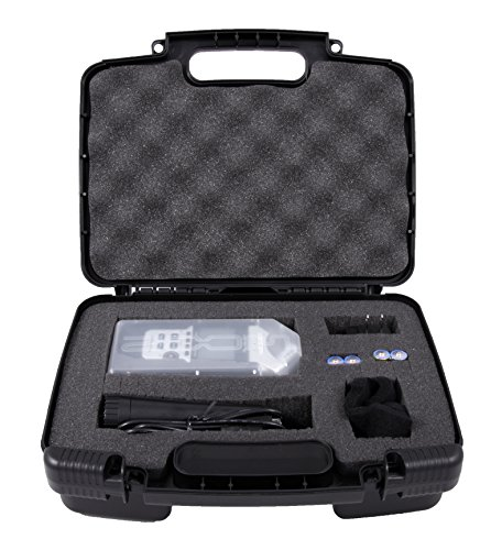 Casematix Portable Recorder Case Compatible with Zoom Podtrak P4 Podcast Recorder, H1, H2N, H5, H4N, H6, F8, Q8 Handy Music Recorders, Charger, Mic Tripod Adapter and Accessories