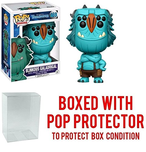 Funko POP! TV Netflix Troll Hunters Blinkous Galadrigal Action Figure (Bundled with Pop Box Protector to Protect Display Box)