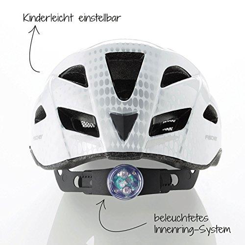 FISCHER Urban Levin Fahrradhelm, grau-schwarz