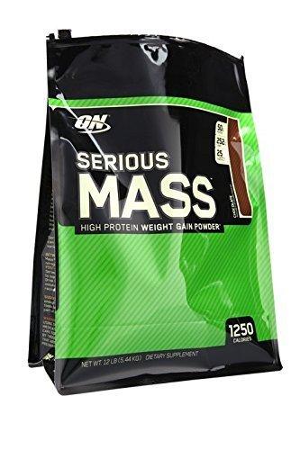 Optimum Nutrition Serious Mass, Chocolate, 12 Pound by Optimum Nutrition
