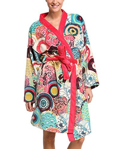 Desigual Albornoz Japanese Rojo/Multicolor L