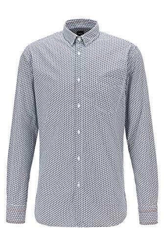BOSS Magneton_1 Camisa, White (100), XS para Hombre