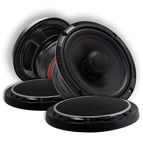 CT Sounds 6.5 Inch Coaxial Car Speakers - 4-Ohm Impedance, 2 Way Full Range, 1.4' Voice Coil, 60W...