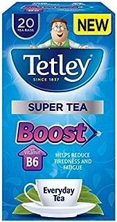 Tetley Super Everyday Boost Tea Bags - 20 per pack (0.09lbs)