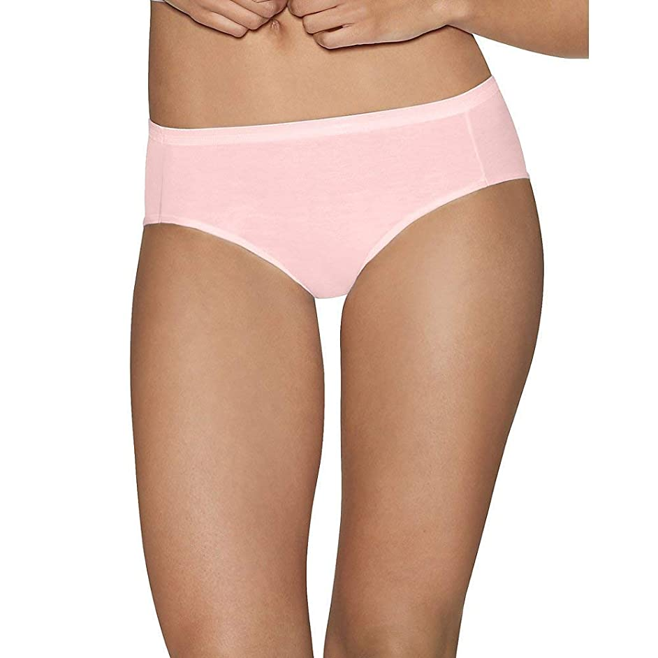 Hanes Ultimate Cotton Women's Hipster Panties 5-Pack