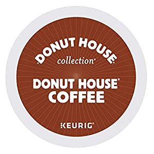 Donut House Collection Donut House Coffee, Single-Serve Keurig K-Cup Pods, Light Roast Coffee, 96 Count
