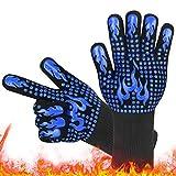Mitening Guantes de Barbacoa, Guantes para Horno, Guantes de Cocina, Oven Gloves...