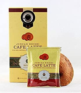 Healthy and Delicios Organo Coffee Latte Gourmet with Certified Organic Ganoderma 20 Sachets per Box (2 boxes)