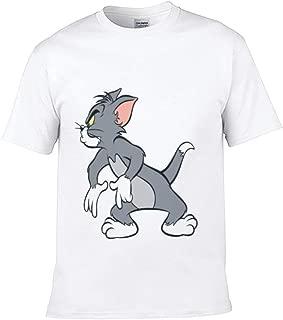 Children's T-Shirt Cat Mammal Vertebrate Felidae Line Art Yellow White Carnivore