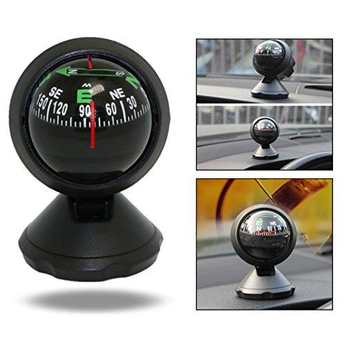OFKPO Mini Decorazioni Compass Bussola Auto Parti per Auto