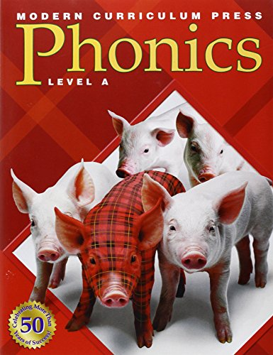 Modern Curriculum Press Phonics: Level A