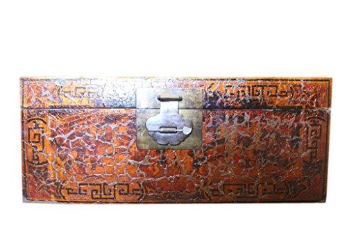 Luxury-Park China baúl Antiguo Aprox. 100j. Pistas de la en el Tiempo.