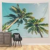 YYRAIN Impresión Nórdica Poliéster Paisaje Pintura Decoración De La Habitación Arte De La Pared Tapiz Multifuncional Toalla De Playa Mantel 59x39 Inch{W150xH100cm}