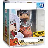Qwead Pop Naruto Jiraiya On Toad # 73 Figura De Acción De Colección Modelo De Juguete con Caja...