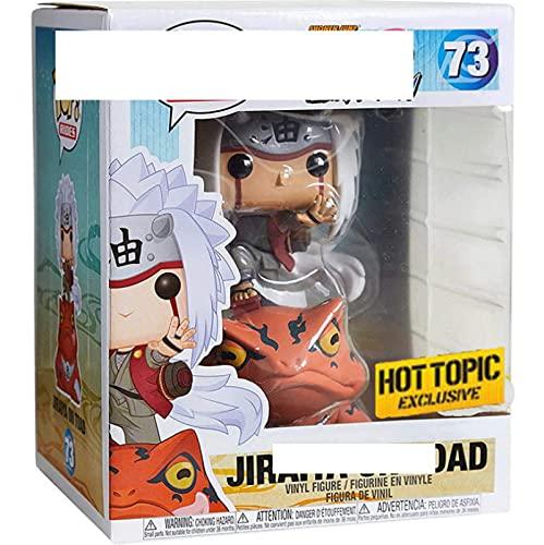 Qwead Pop Naruto Jiraiya On Toad # 73 Figura De Acción De Colección Modelo De Juguete con Caja