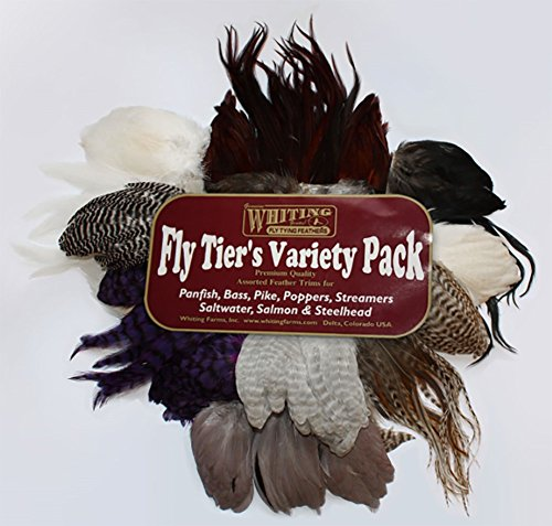 Fly Tying-WHITING FARMS tailing Pack Blanc