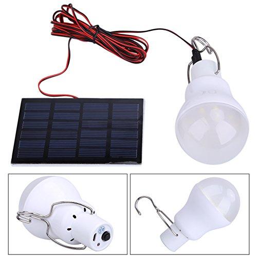 LED Lámpara Solar Bombilla de Demiawaking Voltage 0.8W/5V con Batería 750ma / 3.7v Iluminación Exterior con Panel Solar Bombilla