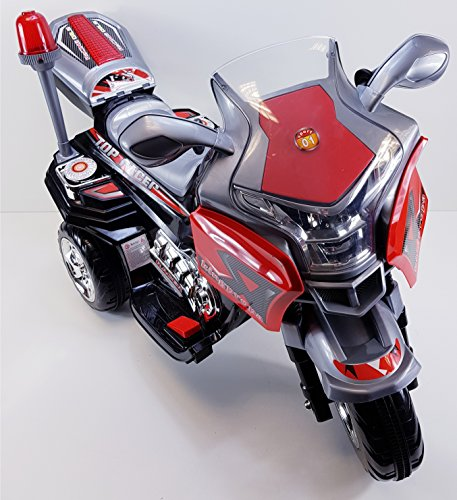 Kindermotorrad Elektromotorrad Maximum Topracer Kinder von 4-8 Jahre 6 Farben (Schwarz)