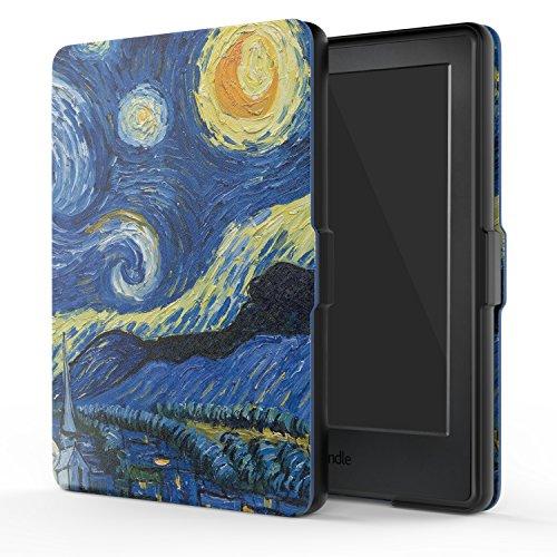 """MoKo Kindle 8ª Gen Case - Custodia Ultra Sottile Leggero per Nuovo E-reader Kindle, schermo touch da 6"""" anti riflesso (8ª Gen - modello 2016), Notte Stellata (NON per Kindle Paperwhite)"""