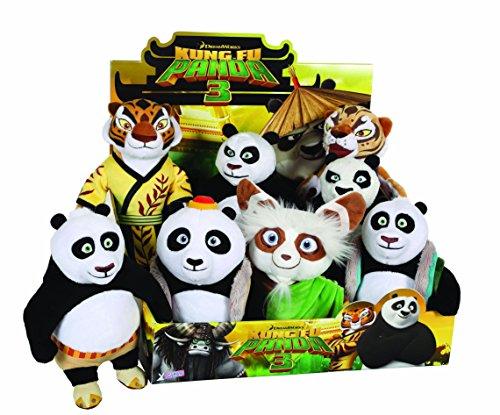 Joy Toy 05530918cm Kung Fu Panda 3Master Shifu peluche assortiti