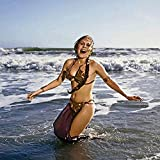 Posterazzi DAP14724 Carrie Fisher - Princess Leia in Waves Photo Print, 8 x 10, Multi