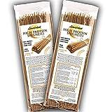 Spaghetti semiacabados 55% de proteína | Pasta que es amiga de tu estado físico | Alto contenido de proteína y fibra | Bajo en carbohidratos (10 porciones (500g))