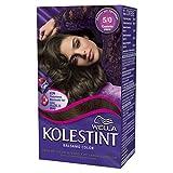 Wella Kolestint Tinte De Cabello Kit, Tono 50 Castaño Claro 210 g