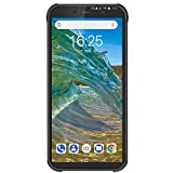 Blackview BV5500Plus スマホ 本体 新品 Simフリー 4Gスマートフォン 本体 Android10 端末 5.5インチ 耐衝撃 防水 防塵 スマホ タフスマホ 頑丈 本体 800万画像+500万画素 3GB RAM+32GB ROM 4400mAh バッテリー 技適認証済み 携帯電話 1年間保証付き (黒)