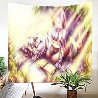タペストリー メイドインアビスアニメタペストリー壁掛け漫画デジタル印刷吊り布家の装飾寝室タペストリー-230X150Cm