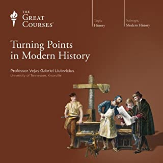 Turning Points in Modern History                   Written by:                                                                                                                                 Vejas Gabriel Liulevicius,                                                                                        The Great Courses                               Narrated by:                                                                                                                                 Vejas Gabriel Liulevicius                      Length: 12 hrs and 17 mins     7 ratings     Overall 4.3