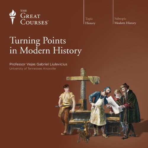 Turning Points in Modern History audiobook cover art