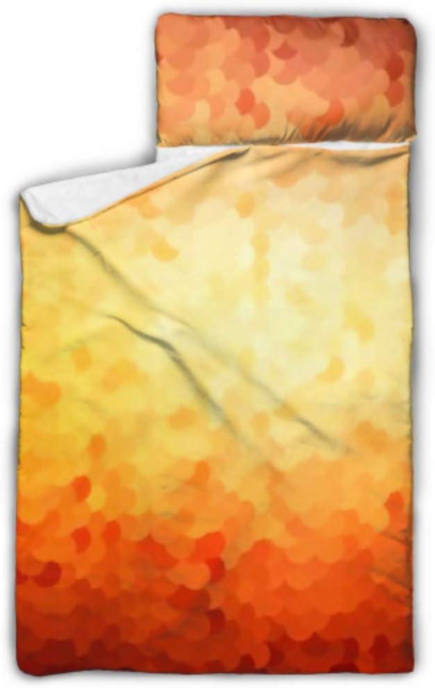 HJSHG Kids Sleeping Bag Dark Co Vector Very Denver Mall popular Which Orange Illustration