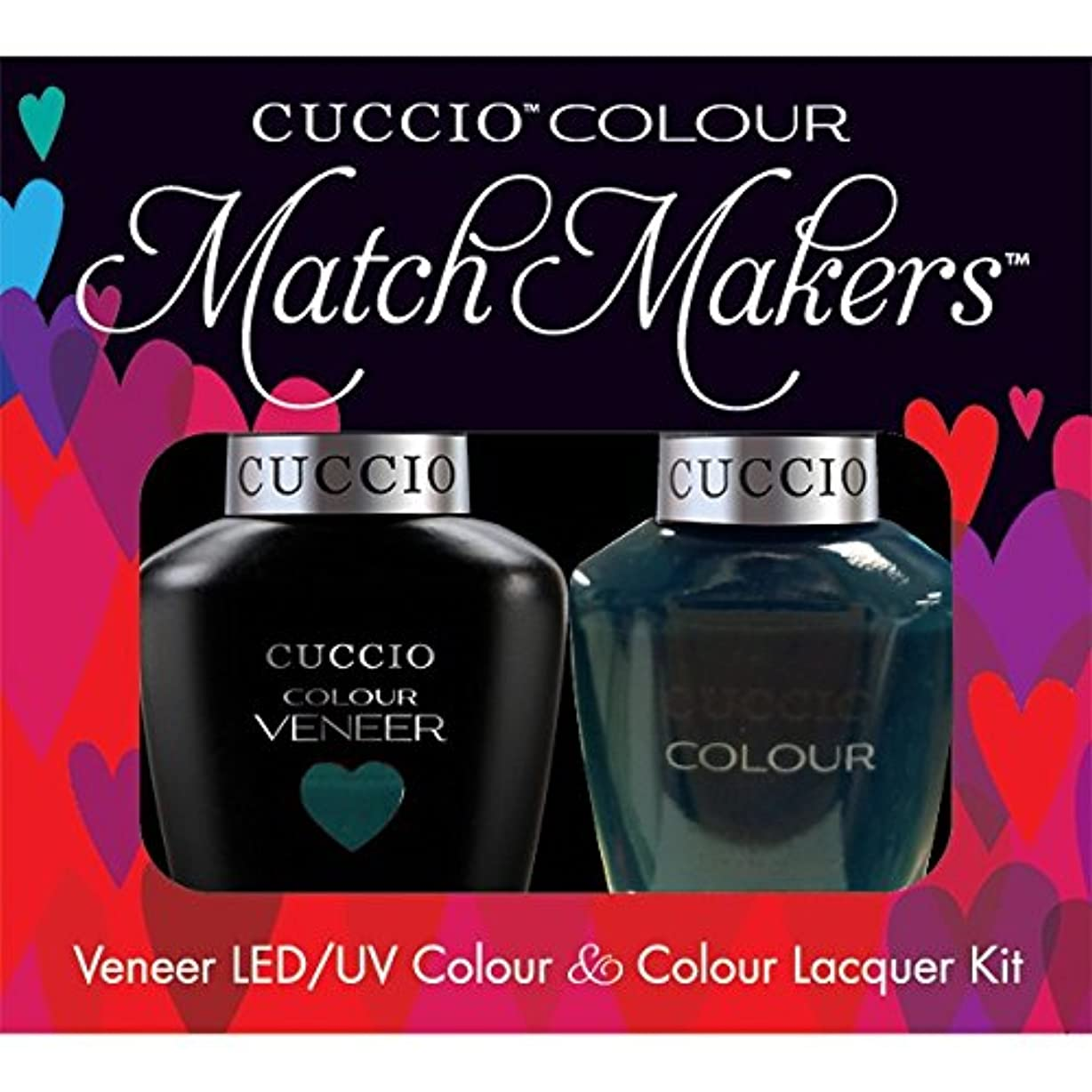 七面鳥パンチ破産Cuccio MatchMakers Veneer & Lacquer - Prince I've Been Gone - 0.43oz / 13ml Each