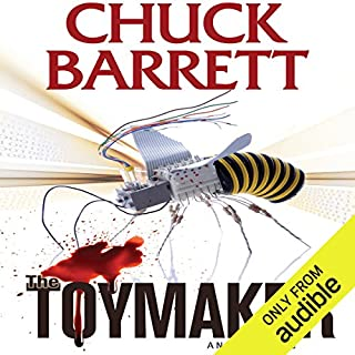 The Toymaker audiobook cover art