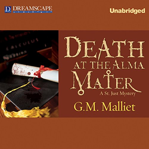 Death at the Alma Mater audiobook cover art