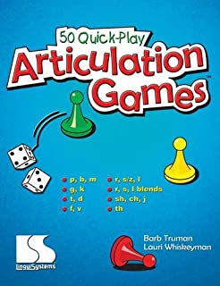 50 Quick-play Articulation Games (Grades: K-5)