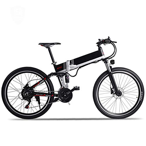 SHIJING Elektrische fiets, mountainbike, 48 V, 500 W, helper, E-Bike, lithium