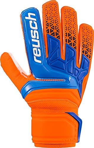 Reusch Herren Prisma SD Torwarthandschuh, Shocking orange/Blue, 10