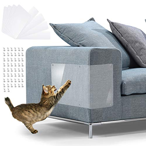 Furniture Scratch Guards, X-Large Premium Flexible Vinyl Cat...