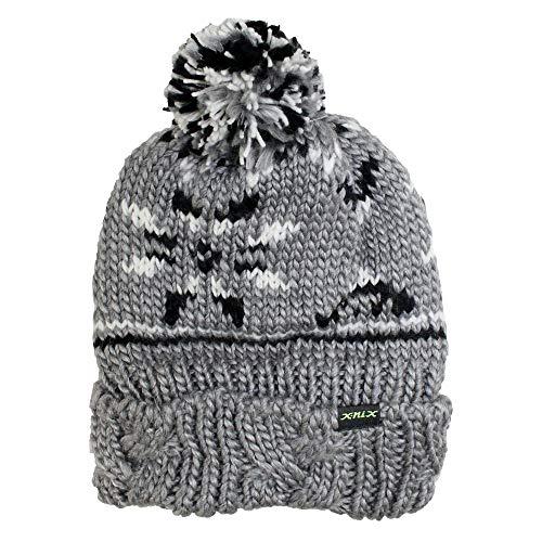 X-NIX(エクスニクス)メンズ Crystal Beanie スノーキャップ ニットキャップ ビーニー 帽子 XN478HW06 CG...